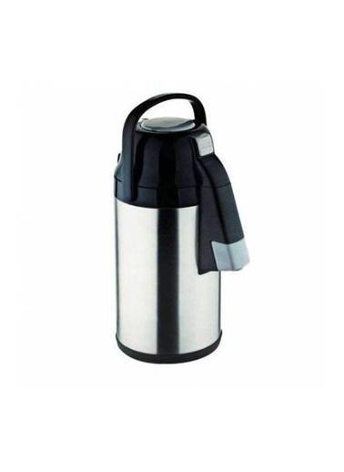 Cooker 2,5 Lt. Çelik Termos Pompalı - Çay Termosu Renkli